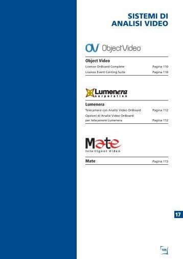 Sistemi di analisi video - GSG International S.r.l.