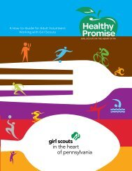 A How-to-Guide for Adult Volunteers Working with Girl Scouts