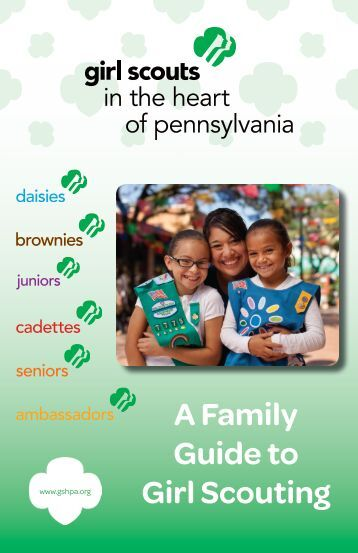sample first four junior girl scout meetings