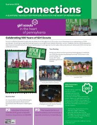 Summer 2012 - Girl Scouts in the Heart of Pennsylvania