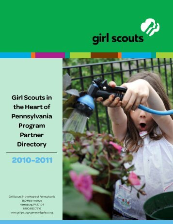 table of contents - Girl Scouts in the Heart of Pennsylvania
