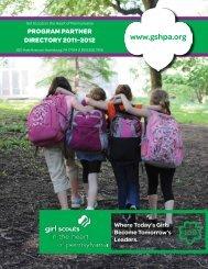 Program Partner - Girl Scouts in the Heart of Pennsylvania