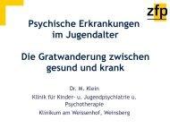 Dr. Marianne Klein: Die Gratwanderung zwischen ... - Gsi-consult.de
