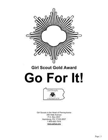girl scout junior badges and awards individual record sheet