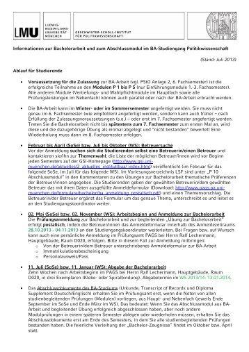 Informationen zur Bachelorarbeit und zum Abschlussmodul im BA ...