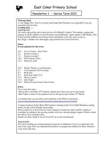 Spring 1 12 - Somerset Learning Platform