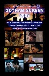 download the 2008 program - Gotham Screen International Film ...