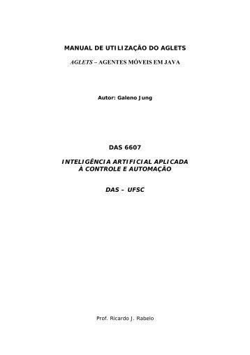 MANUAL DE UTILIZAÇÃO DO AGLETS AGLETS ... - gsigma - UFSC