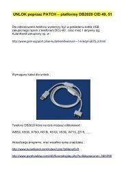 Pobierz - GSM Support
