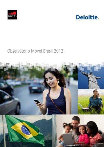 Observatório Móvel Brasil 2012 - GSMA