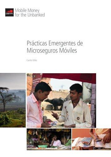 Prácticas Emergentes de Microseguros Móviles - GSMA