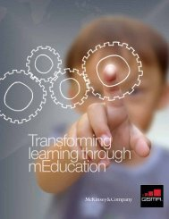 Transforming learning through mEducation - G3ict