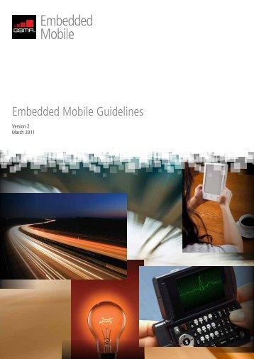 Whitepaper Embedded Mobile Guidelines v2_final - GSMA