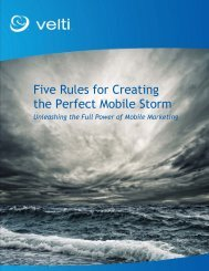 Five Rules for Creating the Perfect Mobile Storm - GSMA