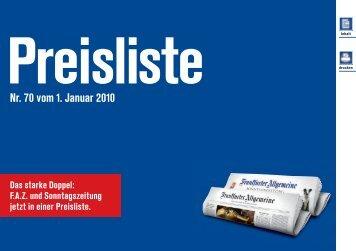 Nr. 70 vom 1. Januar 2010 - GSMedien
