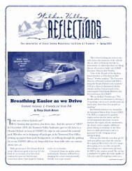 Newsletter Spring 03 - Great Smoky Mountains Institute at Tremont