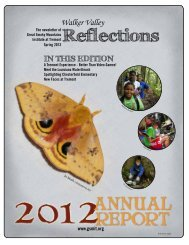 Spring 2013 - Great Smoky Mountains Institute at Tremont