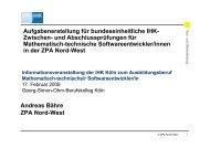 ZPA Nord-West - Georg-Simon-Ohm-Schule