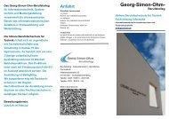 Faltblatt - Georg-Simon-Ohm-Schule