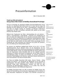 Pressemitteilung zur Preisverleihung - Georg-Simon-Ohm-Schule