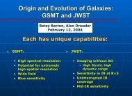 Origin and Evolution of Galaxies: GSMT and JWST