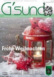 PDF-Ausgabe - G´sund Online