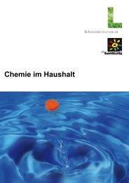 Broschüre: Chemie im Haushalt - Initiative Sichere Gemeinden