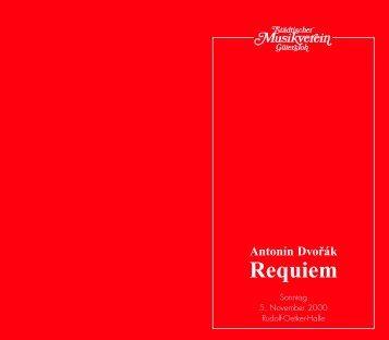 Requiem - Städtischer Musikverein Gütersloh eV