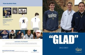 Gladiator Gear Catalog - Grand Traverse Area Catholic Schools