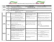 complete schedule - Grand Traverse Area Catholic Schools