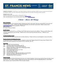 April 13, 2012 - Grand Traverse Area Catholic Schools