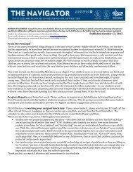 October 12, 2012 SEAS Navigator Newsletter - Grand Traverse Area ...