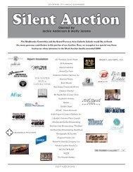 Silent Auction Items - Grand Traverse Area Catholic Schools