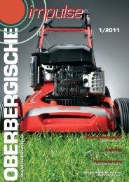 Oberbergische Impulse I/2011 - und TechnologieCentrum ...