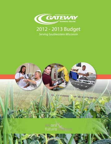 Budget Book 2013 - Gateway Technical College