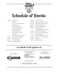Schedule of Events - Grand Traverse Area Catholic Schools