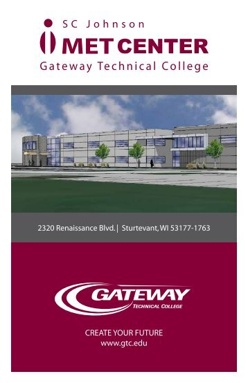 iMET facility & capabilities - Gateway Technical College