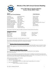 Minutes of the 36th Annual General Meeting - The Guild of ...