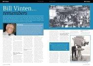 Bill Vinten Remembers