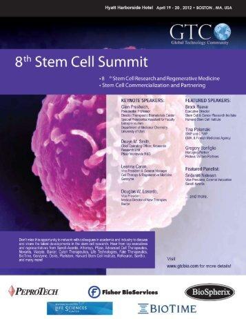 Stem Cell Research & Regenerative Medicine - GTCbio