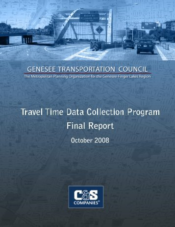 Arterials (including Appendices A and B) - Genesee Transportation ...