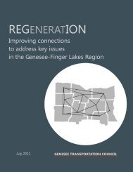 REGENERATION - Genesee Transportation Council
