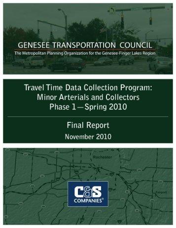 Minor Arterials and Collectors - Genesee Transportation Council