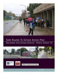 Safe Routes To School Action Plan - Genesee Transportation Council