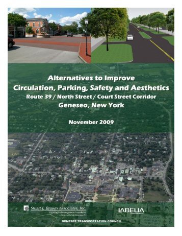Village of Geneseo Circulation, Accessibility, and Parking Study