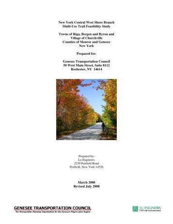 New York Central Westshore Branch Trail Feasibility Study