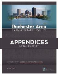 APPENDICES - Genesee Transportation Council