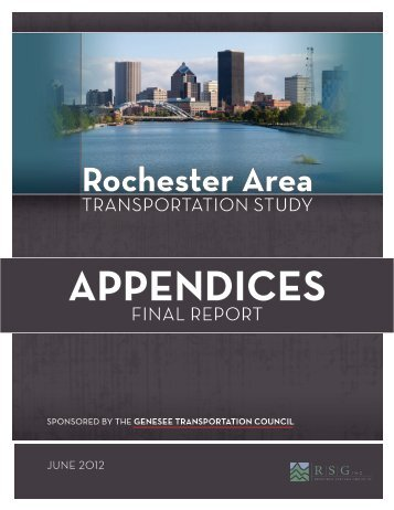 APPENDICES - Genesee Transportation Council