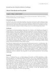 Massive Intoxikation mit Doxylamin - GTFCh