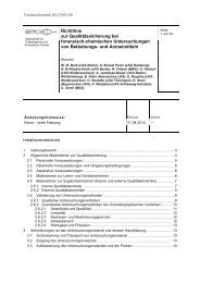 Richtlinie zur Qualitätssicherung bei forensisch ... - GTFCh